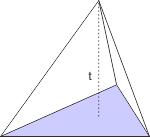 luas permukaan limas segi tiga