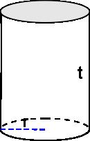 rumus tabung : volume tabung