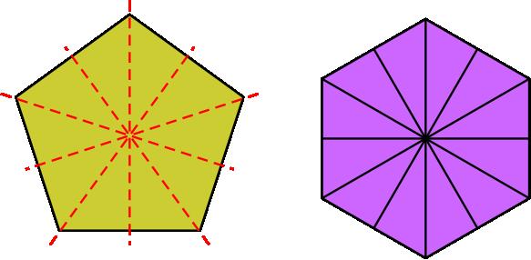 segi lima dan segi enam