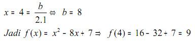 jawaban soal fungsi kuadrat 2