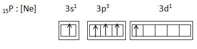 atom phosphor setelah hibridisasi