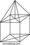 kubus homogen dengan rusuk 10 m bandun ii limas pejal homogen dengan