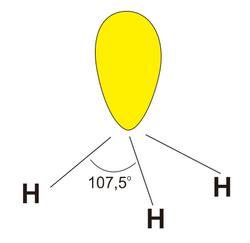 struktur senyawa amonia