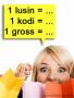 Satuan Jumlah Lusin, Kodi, Gross, dan Rim