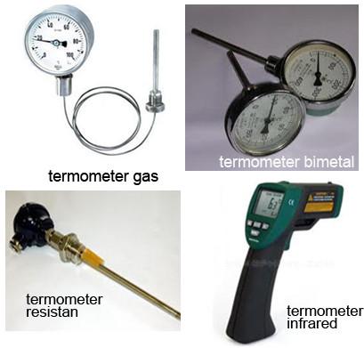 jenis jenis termometer