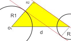 asal rumus garis singgung persekutuan dalam lingkaran