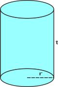 luas permukaan tabung
