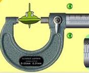 mikrometer sekrup alat ukur panjang
